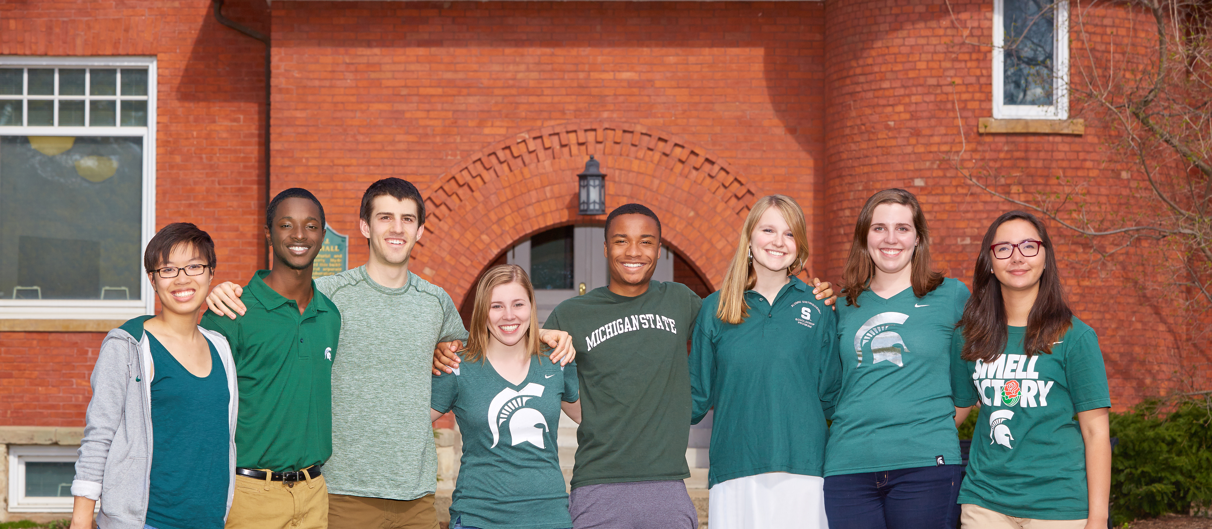 honors college students at msu