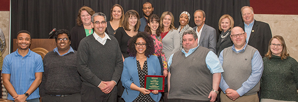 honors college staff receives award